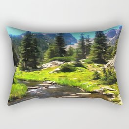 Emerald Lake Rectangular Pillow