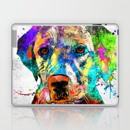 Labrador Retriever Grunge Laptop & iPad Skin