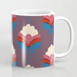 Retro fall florals- n. 2 Coffee Mug