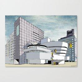 Salomon R. Guggenheim Museum, New York City Canvas Print