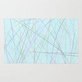 Pastel lines Rug