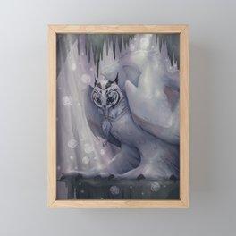 Ancient Owl Framed Mini Art Print