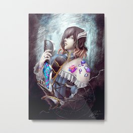Bloodstained Miriam Metal Print