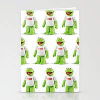 kermit Stationery Cards featuring Kermit by MrWhite