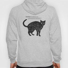 A Familiar Black Cat Hoody