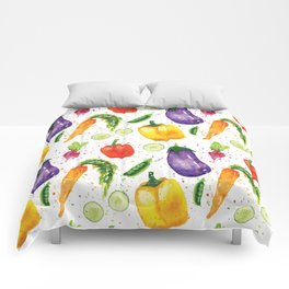 Very Veggie Pattern Comforters
