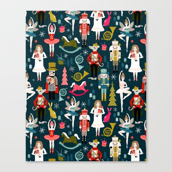 Nutcracker Ballet by Andrea Lauren  Canvas Print