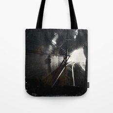 Black and White San Francisco Doboce Tunnel Tote Bag