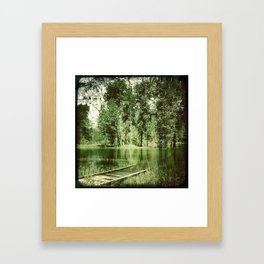 Across The Bridge Framed Art Print