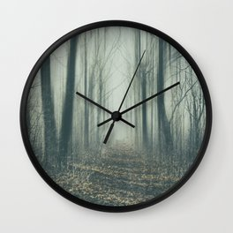 Forest of Mysteries Wall Clock