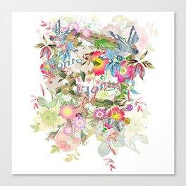 Floral beauty Canvas Print