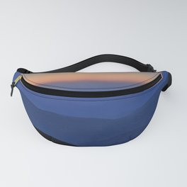 Sierra Nevada. Sunset at the mountains. Astronomical Observatory at 3000 meters Fanny Pack