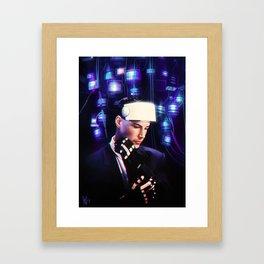 Johnny Mnemonic Framed Art Print