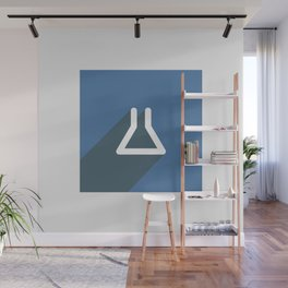 Flask icon Wall Mural