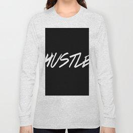 Hustle Typography Inspiration Long Sleeve T-shirt
