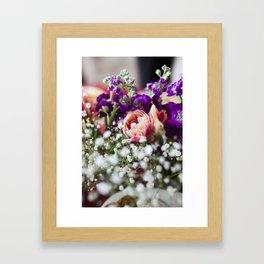 Fresh Flower Lovin' Framed Art Print