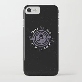 Three Turns iPhone Case