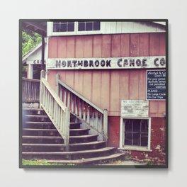 NorthBrook Canoe Company Metal Print