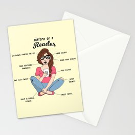 Anatomy of a Reader Stationery Cards