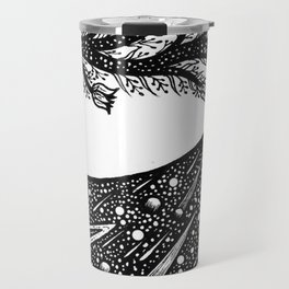 Galaxy Deer Travel Mug