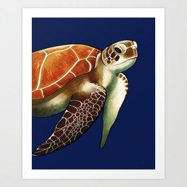 Return to Sea Art Print