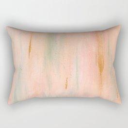 Desert Sunset in Acrylic v.3 Rectangular Pillow
