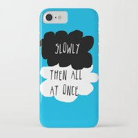 fault in our stars iPhone & iPod Cases featuring the fault in our stars by Kathy157