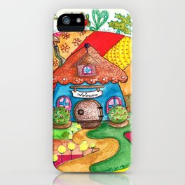 The land of miracles iPhone Case
