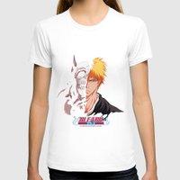 bleach T-shirts featuring Bleach poster by Tremblax1