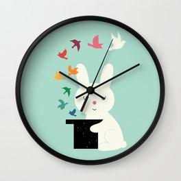 Magic Of Peace Wall Clock