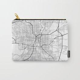 San Antonio Texas Street Map Carry-All Pouch