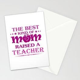 TEACHER'S MOM Stationery Cards