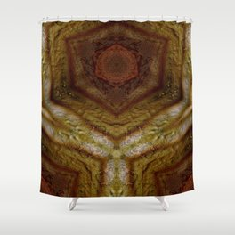Cradel of Light Shower Curtain