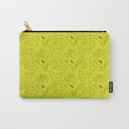 Lime and brown subs Carry-All Pouch