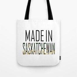 Made In Saskatchewan Tote Bag
