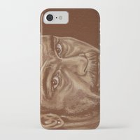 lucas david iPhone & iPod Cases featuring round 11..david haye by noblackcolor