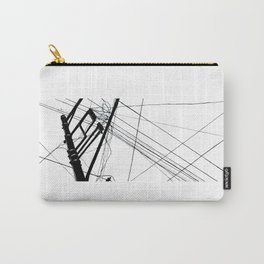Wires #1 Carry-All Pouch