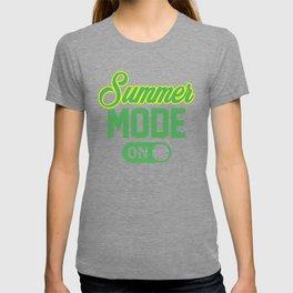 Summer Mode ON gy T-shirt