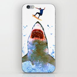 Shark Attack iPhone Skin