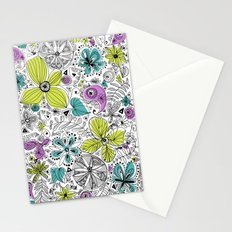 Doddle flowers Stationery Cards