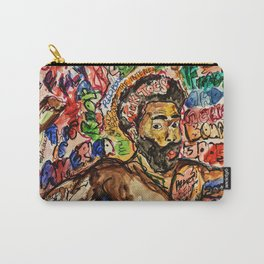 childish, this is america,colourful,colorful,poster,wall art,fan art,music,hiphop,rap,legend,shirt,p Carry-All Pouch