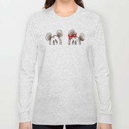 Mickey and Minnie Mouse.  Long Sleeve T-shirt
