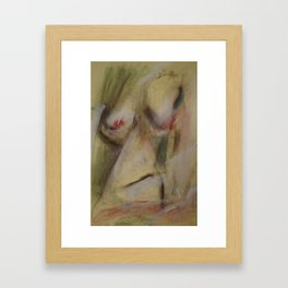 Klooster Series: Nude #49 Framed Art Print