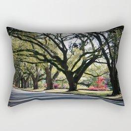 Oaks And Azaleas Rectangular Pillow