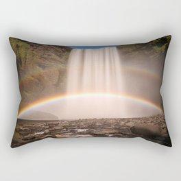Skogarfoss, Iceland Rectangular Pillow