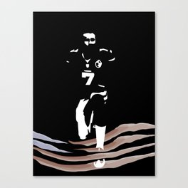 This Matters - Colin Kaepernick Black Lives Matter Protest of Injustice in America Canvas Print