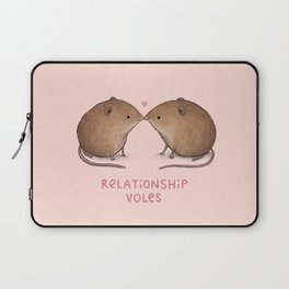 Relationship Voles Laptop Sleeve