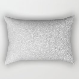 Silver Rectangular Pillow