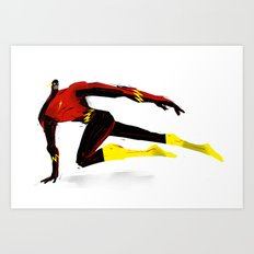 Flash Art Print