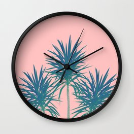Palm Trees - Cali Summer Vibes #8 #decor #art #society6 Wall Clock